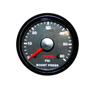 "2-1/16"" Gauges - PPE Gauges - Pacific Performance Engineering - PPE Turbo Boost Pressure Gauge"