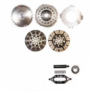 South Bend Clutch - South Bend Clutch  Multi-Friction Street Dual Disc Kit, Dodge (2005.5-13) 5.9L & 6.7L 2500/3500 G56, 650hp & 1400 ft lbs of torque (with flywheel)