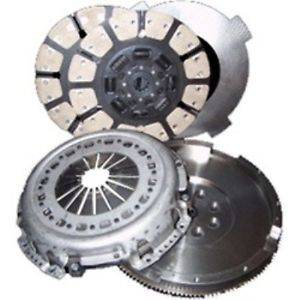 Transmission - Clutches/Clutch Parts - South Bend Clutch - South Bend Clutch  HD Solid Single Flywheel Conversion Kit, Chevy/GMC (2001-05) 6.6L Duramax, 425hp CB/Kevlar