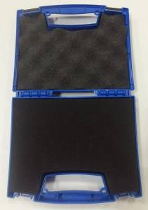 "Tool Storage Case, 8.4"" x 6.8"" x 2.45"" Blue (with pick and pluck foam) - Image 2"
