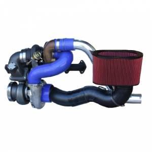 """Diesel Power Source Twin Turbo Kit, Dodge (2003-07) 5.9L Cummins, Stock Turbo/S475, """"Stocker S475 Kit"""""""
