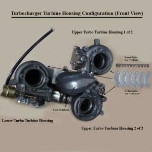 Diesel Power Source Triple Turbo Kit Dodge 2003 07 5 9l
