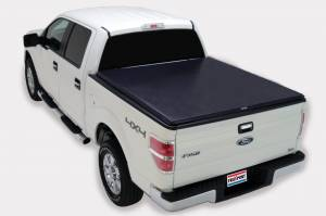 Bed/Tonneau Covers - Vinyl Roll-Up Tonneau Covers - TruXedo Tonneau Covers - TruXedo Soft Roll-Up Bed Cover, Ford (2009-14) F-150 5.5' Bed (w/o factory track system) TruXport
