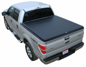 Bed/Tonneau Covers - Vinyl Roll-Up Tonneau Covers - TruXedo Tonneau Covers - TruXedo Soft Roll-Up Bed Cover, Ford (2009-14) F-150 6.5' Bed (w/o factory track system) TruXport