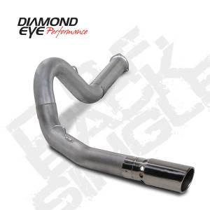 "Diamond Eye Performance - Diamond Eye 5"" D.P.F. Back Exhaust, Chevy/GMC (2011-14) 2500-3500HD, 6.6L Duramax, Single, Aluminized - Image 3"