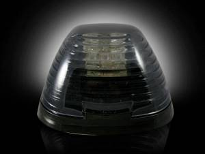 Recon - Recon Cab Roof Lights, Ford (1999-15) Ford Superduty Smoked (Amber LED Lighting) - Image 2