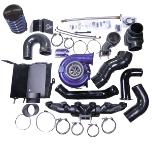 Turbos/Superchargers & Parts - Performance Twin Turbo Kits - ATS - ATS Aurora 5000 Compound Kit, Dodge (2003-07) 5.9L Cummins (includes Aurora turbo)