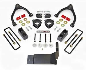 "Steering/Suspension Parts - 4"" Lift Kits - ReadyLIFT Suspension - ReadyLIFT Lift Kit, Chevy/GMC (2014-15) 1500 4x4, 4"" front & 1.75"" rear"
