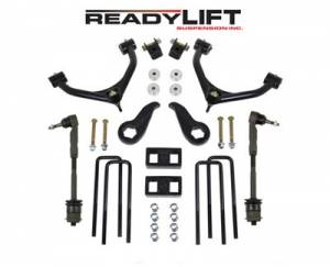 "Steering/Suspension Parts - 4"" Lift Kits - ReadyLIFT Suspension - ReadyLIFT Lift Kit, Chevy/GMC (2011-15) 2500 & 3500 2wd & 4x4, 4"" front & 1"" rear (Single Rear Wheel Only)"