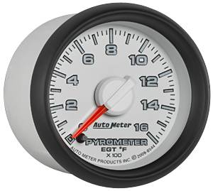 "2-1/16"" Gauges - Auto Meter Dodge 3rd Gen Factory Match Series - Autometer - Auto Meter Dodge 3rd GEN Factory Match, EGT Pyrometer (8544), 1600*"