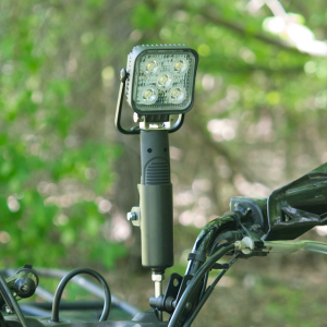 Tools - Casters - TraXion Engineered Products - TraXion LED Wireless Spotlight with Mount
