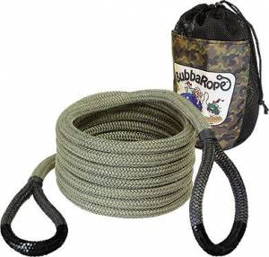 "Towing & Recovery - Snatch Ropes - Bubba Rope - Bubba Rope (0.75"") 3/4"" X 20' Renegade (Black Eyes)"