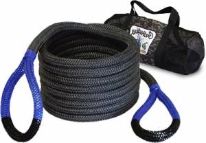 "Towing & Recovery - Snatch Ropes - Bubba Rope - Bubba Rope (0.875"") 7/8"" X 30' Bubba (Black Eyes)"