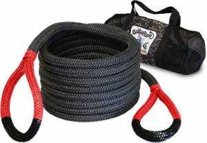 "Towing & Recovery - Snatch Ropes - Bubba Rope - Bubba Rope (0.875"") 7/8"" X 30' Bubba (Red Eyes)"