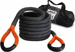 "Towing & Recovery - Snatch Ropes - Bubba Rope - Bubba Rope (1.25"") 1-1/4"" X 30' Big Bubba (Yellow Eyes)"