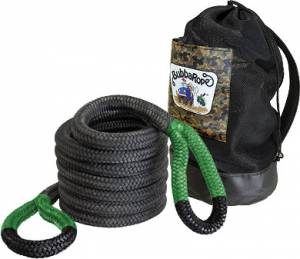 "Towing & Recovery - Snatch Ropes - Bubba Rope - Bubba Rope (1.5"") 1-1/2"" X 30' Jumbo Bubba (Red Eyes)"