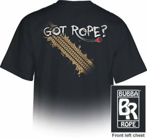 """Bubba Rope - Bubba Rope T-Shirt, """"Got Rope"""" (Large)"""