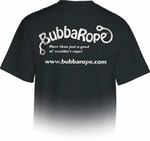Apparel - Bubba Rope Apparel - Bubba Rope - Bubba Rope T-Shirt, Black (Medium)