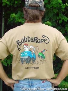 Bubba Rope - Bubba Rope T-Shirt, Tan (Large)
