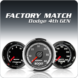 "Gauges - 2-1/16"" Gauges - Auto Meter Dodge 4th Gen Factory Match Series"