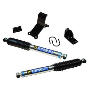 Superlift - Superlift Dual Steering Stabilizer Kit, Dodge (2014-15) 2500 & (13-15) 3500, 4x4, Superide SS by Bilstein Shocks (High Clearance)