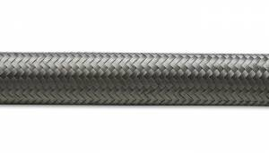 "Flexible Hoses - Stainless Steel Braided Flex Hose - Vibrant Performance - Vibrant Performance Stainless Steel Braided Flex Hose, 0.34"" ID, AN-6 (10' Roll)"