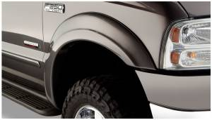Exterior Accessories - Fender Trim - Bushwacker - Bushwacker Fender Flares, Ford (1999-07) F-250/F-350/F-450/F-550 Front Pair(OE Style)