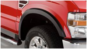 Exterior Accessories - Fender Trim - Bushwacker - Bushwacker Fender Flares, Ford (2008-10) F-250/F-350 Front Pair Only (Street Flare)