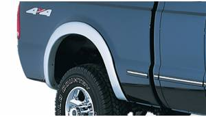 Exterior Accessories - Fender Trim - Bushwacker - Bushwacker Fender Flares, Ford (1999-07) F-250/F-350 Rear Pair Only (Street Flare)