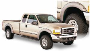 Exterior Accessories - Fender Trim - Bushwacker - Bushwacker Fender Flares, Ford (1999-07) F-250/F-350/F-450/F-550 Superduty (Pocket Style)
