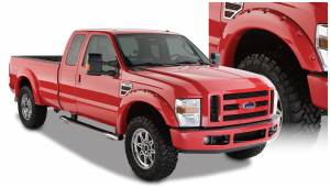 Exterior Accessories - Fender Trim - Bushwacker - Bushwacker Fender Flares, Ford (2008-10) F-250/F-350/F-450/F-550 Superduty(Pocket Style)