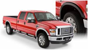 Bushwacker - Bushwacker Fender Flares, Ford (2008-10) F-250/F-350 Set of 4 (Street Flare)