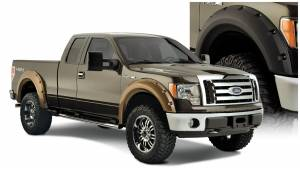 Exterior Accessories - Fender Trim - Bushwacker - Bushwacker Fender Flares, Ford (2009-14) F-150 (Pocket Style)
