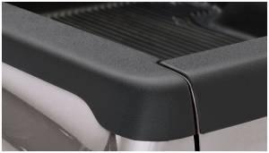 Bed Accessories - Bed Rail/Tailgate Caps - Bushwacker - Bushwacker Ultimate Bed Rail Cap Ford/Mazda (2000-11) Ranger (2003-09) B2300/B4000 (2003-07) B3000 Smoothback OE Matte Black