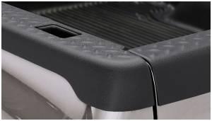Bed Accessories - Bed Rail/Tailgate Caps - Bushwacker - Bushwacker Ultimate Bed Rail Cap Ford/Mazda (2000-11) Ranger (2003-09) B2300/B4000 (2003-07) B3000 DiamondBack OE Matte Black