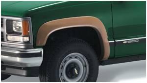 Exterior Accessories - Fender Trim - Bushwacker - Bushwacker Fender Flares, Chevy/GMC (1988-00) 1500/2500 (1992-99) /Yukon/Tahoe/Suburban (1992-00) 3500 Front Pair (OE Style)