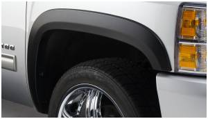 Exterior Accessories - Fender Trim - Bushwacker - Bushwacker Fender Flares, Chevy/GMC (2007-13) 1500 (2007-14) 2500/3500 Front Pair Only (Street Flare)