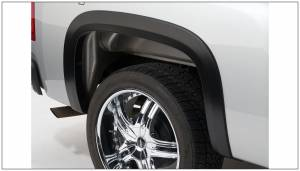 Exterior Accessories - Fender Trim - Bushwacker - Bushwacker Fender Flares, Chevy/GMC (2007-13) 1500 (2007-14) 2500/3500 Rear Pair Only (Street Flare)