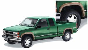 Exterior Accessories - Fender Trim - Bushwacker - Bushwacker Fender Flares, Chevy/GMC (1988-99) 1500 (1988-00) 2500/3500 Set of 4 (Street Flare)
