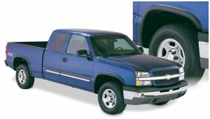Exterior Accessories - Fender Trim - Bushwacker - Bushwacker Fender Flares, Chevy/GMC (2003-07) 1500/2500/3500 Set of 4 (Street Flare)