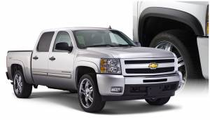 Exterior Accessories - Fender Trim - Bushwacker - Bushwacker Fender Flares, Chevy/GMC (2007-13) 1500 (2007-14) 2500/3500 Set of 4 (Street Flare)