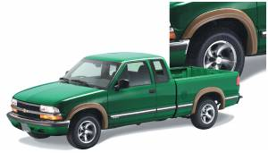 Exterior Accessories - Fender Trim - Bushwacker - Bushwacker Fender Flares, Chevy/GMC (1994-05) S10/Sonoma/Blazer/Jimmy Set of 4 (Street Flare)