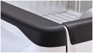 Bed Accessories - Bed Rail/Tailgate Caps - Bushwacker - Bushwacker Ultimate Bed Rail Cap GMC (2007-13) 1500 (2007-14) 2500 (2013-14) 3500 SB(6.5) Smoothback OE Matte Black
