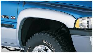 Exterior Accessories - Fender Trim - Bushwacker - Bushwacker Fender Flares, Dodge (1994-01) 1500 (1994-02) 2500/3500 Front Pair(OE Style)