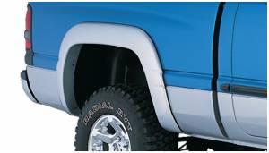 Exterior Accessories - Fender Trim - Bushwacker - Bushwacker Fender Flares, Dodge (1994-01) 1500 (1994-02) 2500/3500 Rear Pair(OE Style)