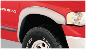 Exterior Accessories - Fender Trim - Bushwacker - Bushwacker Fender Flares, Dodge (2002-05) 1500 (2003-05) 2500/3500 Front Pair(OE Style)