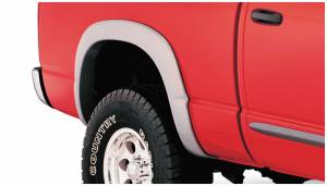 Exterior Accessories - Fender Trim - Bushwacker - Bushwacker Fender Flares, Dodge (2002-05) 1500 (2003-2005) 2500/3500 Rear Pair(OE Style)