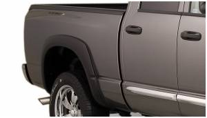 Exterior Accessories - Fender Trim - Bushwacker - Bushwacker Fender Flares, Dodge (2006-08) 1500 (2006-09) 2500/3500 Rear Pair(OE Style)