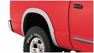 Exterior Accessories - Fender Trim - Bushwacker - Bushwacker Fender Flares, Dodge (2002-08) 1500 (2003-09) 2500/3500 Rear Pair Only (Street Flare)