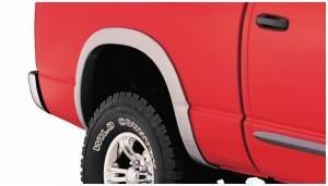 Exterior Accessories - Fender Trim - Bushwacker - Bushwacker Fender Flares, Dodge (2002-08) 1500 (2003-09) 2500/3500 Rear Pair Only (Street Flare)